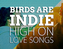 Birds Are Indie - High On Love Songs