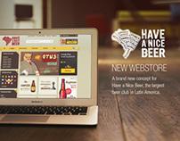 Have a Nice Beer - Webstore