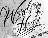 Carlos Ferragamo | Words from the Heart | CD Cover