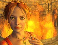 The Fire Queeen