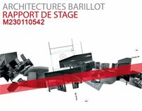 Rapport de stage - Architecture Barillot - 2008