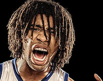Warrior Basketball Portraits