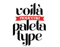 paleta type