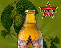 "Branding Redes Sociales ""Cerveza Capital"""
