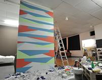 3.6m x 2m Mural at MSH Studios