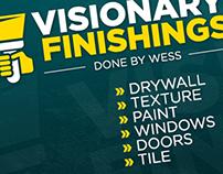 Visionary Finishings Branding