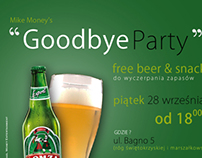 Goodbye Party Flyer