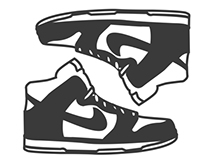 Shoe Icon posters