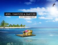 Adel Saatchi & Saatchi 2005 Website.
