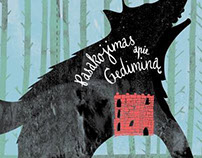 A book about Gediminas the knight and his castle