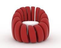 Spiral armchair