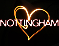 "CONCEPTS for ""Nottingham Loves.."" Young Creative Awards"