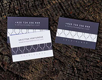 Business cards for Kristýna Venturová