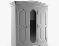 Armoire of Three-Door