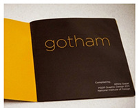 ITS ALL ABOUT GOTHAM / A CLASSROOM PROJECT