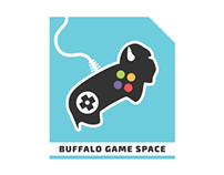 Buffalo Game Space Logo and Branding