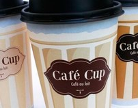 "Package design ""Cafe cup"""