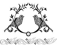 Hand Drawn Embellishment Vector Set