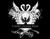 Dirty Beats T-Shirt Design Pack by Steve Knerem