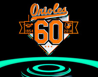 Orioles' style frames