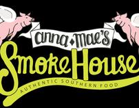 Anna Mae's Smokehouse - Logo Design
