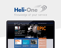 Heli-One Website Refresh
