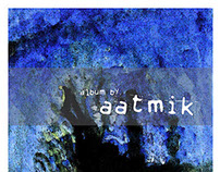 ABSTRACT PAINTING AND DESIGN FOR AN ALBUM AATMIK