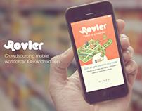 Rovler mobile app