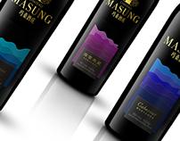 MASUNG玛桑酒庄概念酒标设计