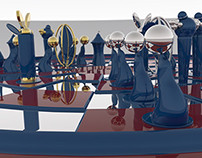 Byzantine Chess Set