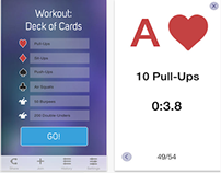 Deck of Cards Workout - Pro