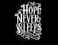 SOUHAITER: Hope Never Sleeps