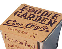 Joel Holland - Packaging for The Foodie Garden