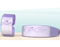 Hormonal future sleep wristband