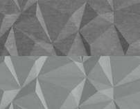Polygon Backgrounds Wall