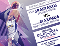 KSW Spartakus Jelenia Góra Home Games Poster (2014)