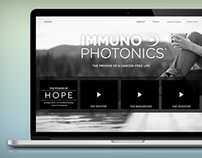 Immunophotonics Site Design