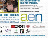 Meak Pro Media Sponsored Ads for AEN 2013