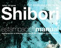 Taller de Shibori + estampación manual