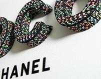 Coco Chanel inspired office installation