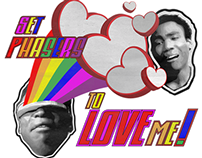 "Tshirt Design - ""Set Phasers to Love Me,"" March 2014"
