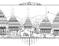 Casuta Bre/Bre's Home- Satul Bre/Bre's Village
