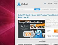 InkyDeals.com Redesign