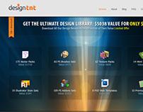 Designtnt.com Website Redesign