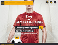 SPORTKETING// REDESIGN WEB