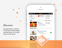 Flavorpill App Design