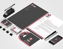 Print Template - Creative Company Corporate Identity