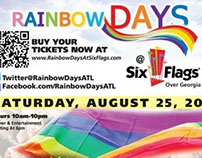 Meak Pro Media Sponsor Ads for RAINBOW DAYS 2012-14