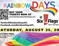 Meak Pro Media Sponsor Ads for RAINBOW DAYS 2012-14