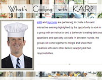 Cooking Class Email Campaign Option 2